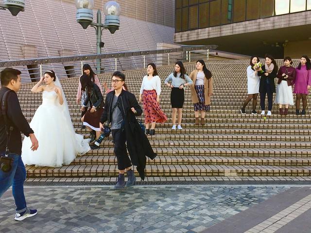 Hong Kong Wedding Party.