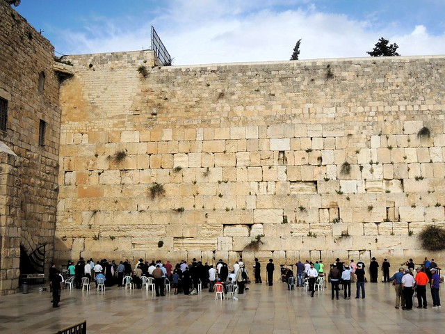 The Western Wall by bryandkeith on flickr