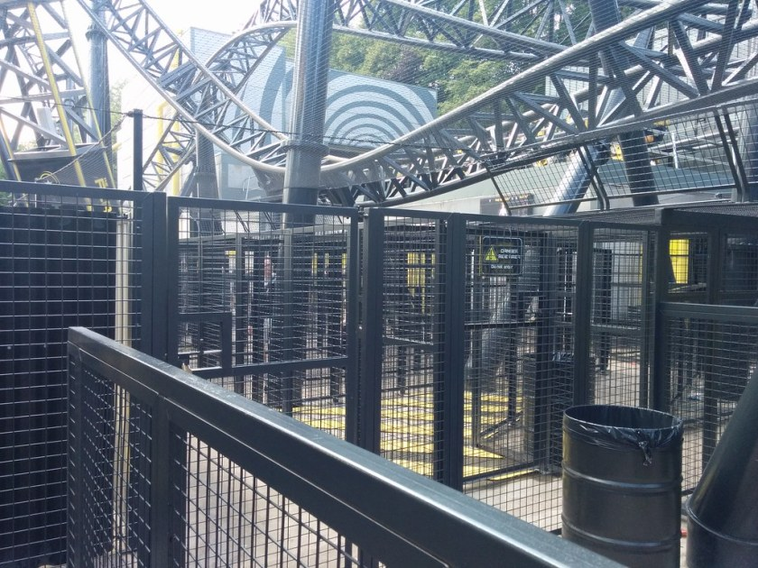 The Smiler queuing system
