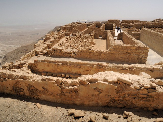 The storage capacity at Masada was impressive by bryandkeith on flickr