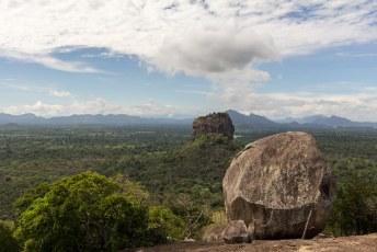 zodat we een mooi uitzicht zouden hebben op Sigiriya