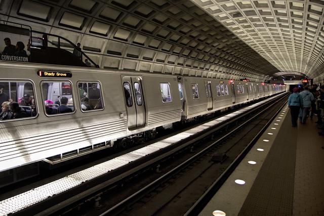 Metro Train at Dupont Circle