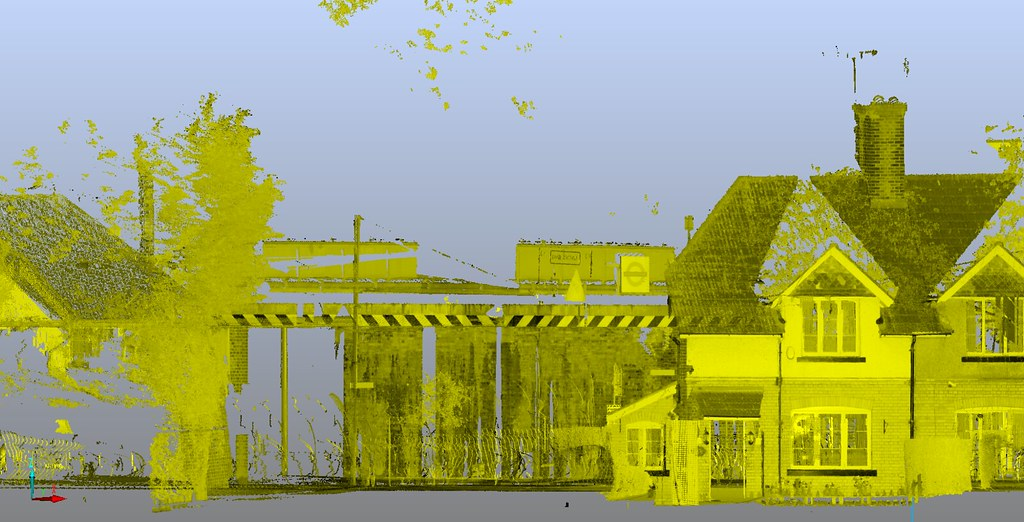 Bella Nguyen 3d Point Cloud Using A Laser Scanner Of Lond