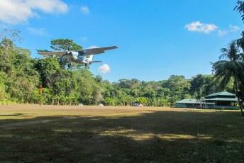 Het vliegtuig voor de mensen die geen 20 kilometer willen lopen.