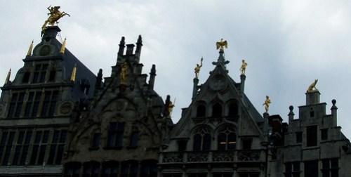 Antwerp guild halls