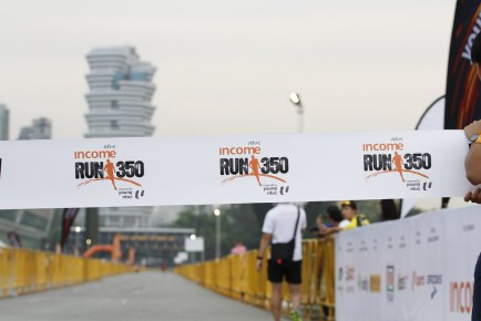 NTUC Income RUN 350, Organised by Young NTUC