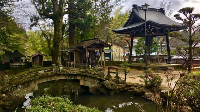 Hokke-ji Tempelanlage, Takayama