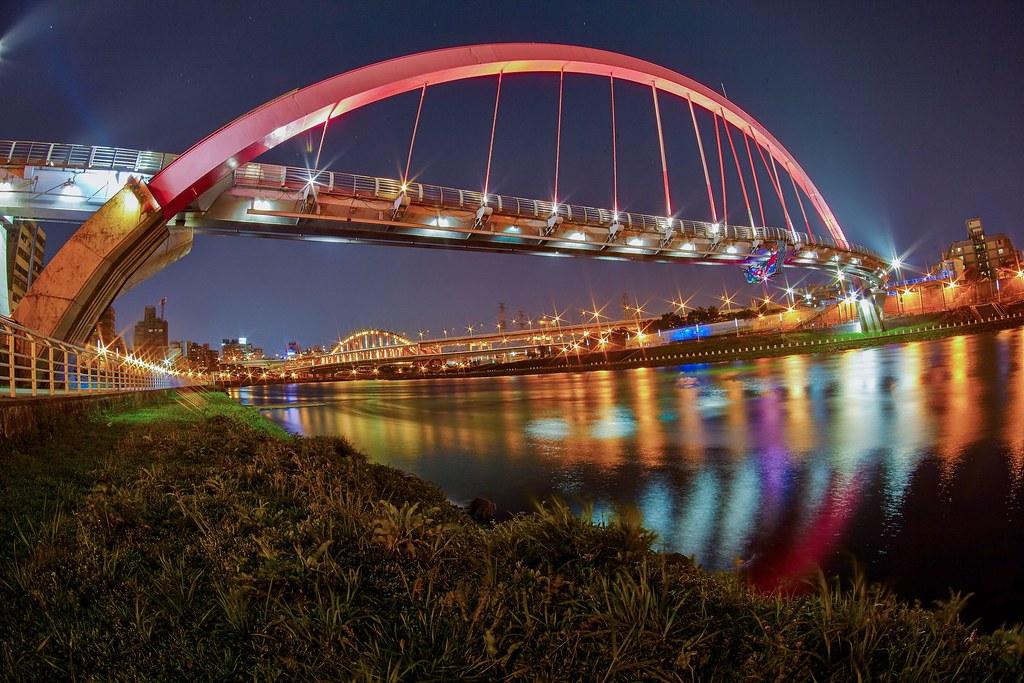 Rainbow Bridge Taipei Taiwan 台灣 台北 彩虹橋 Leica R16 F2 8