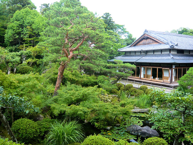 Yoshikien Garden, Nara - General view
