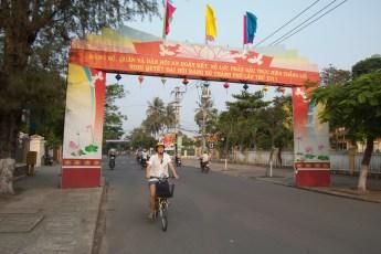 Wahlwerbung Hoi An