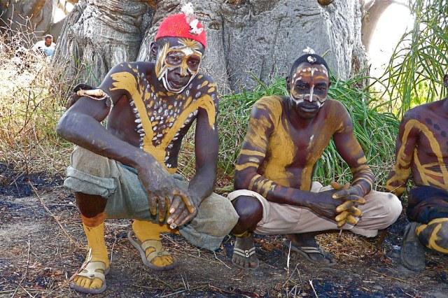 Nuba - body painting