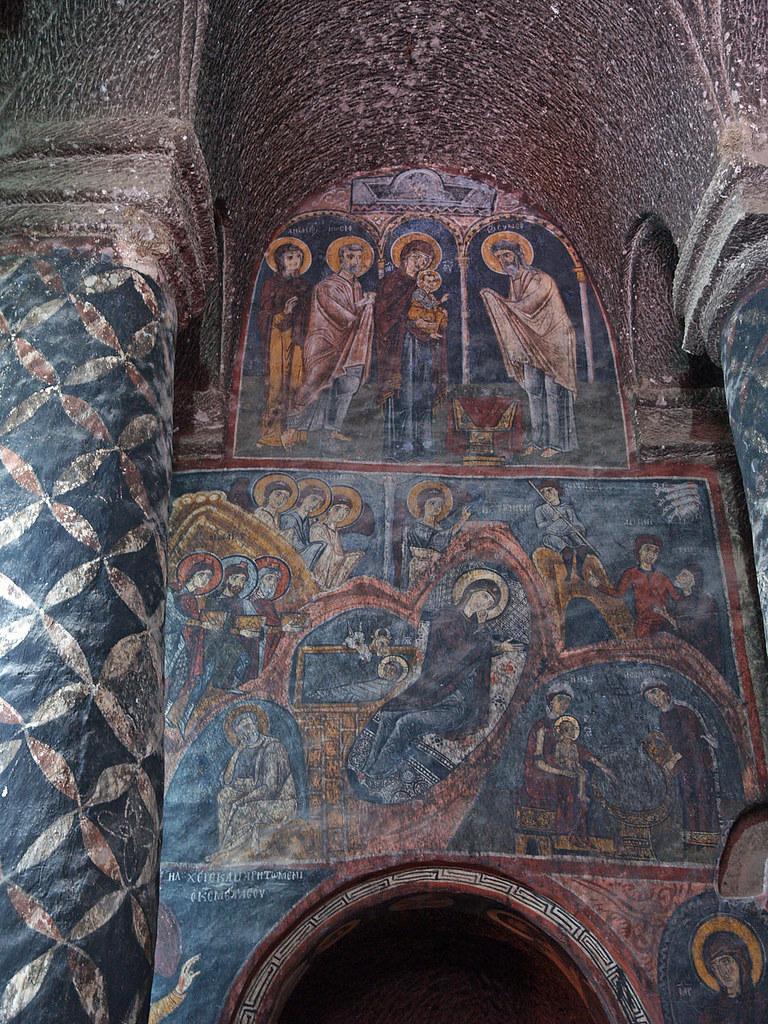 Frescoe Eski G 252 M 252 S Monastery Cappadocia Turkey This Is