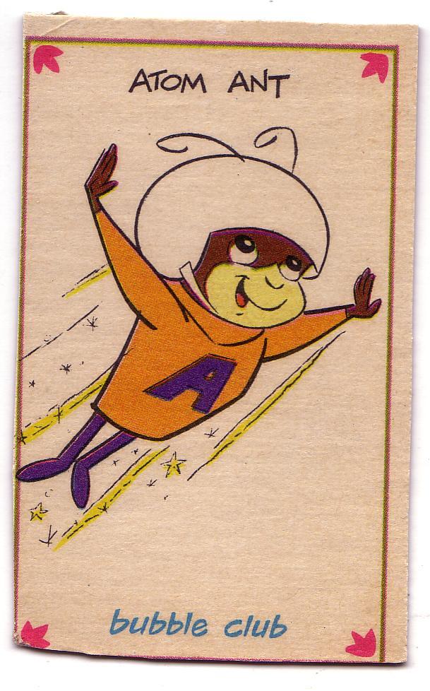 Hanna Barbera Bubble Bath Box Card - Atom Ant | Atom Ant | Mark ...