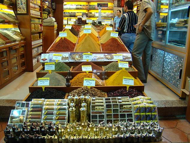 Turquia Estambul Bazar de la Especias 10