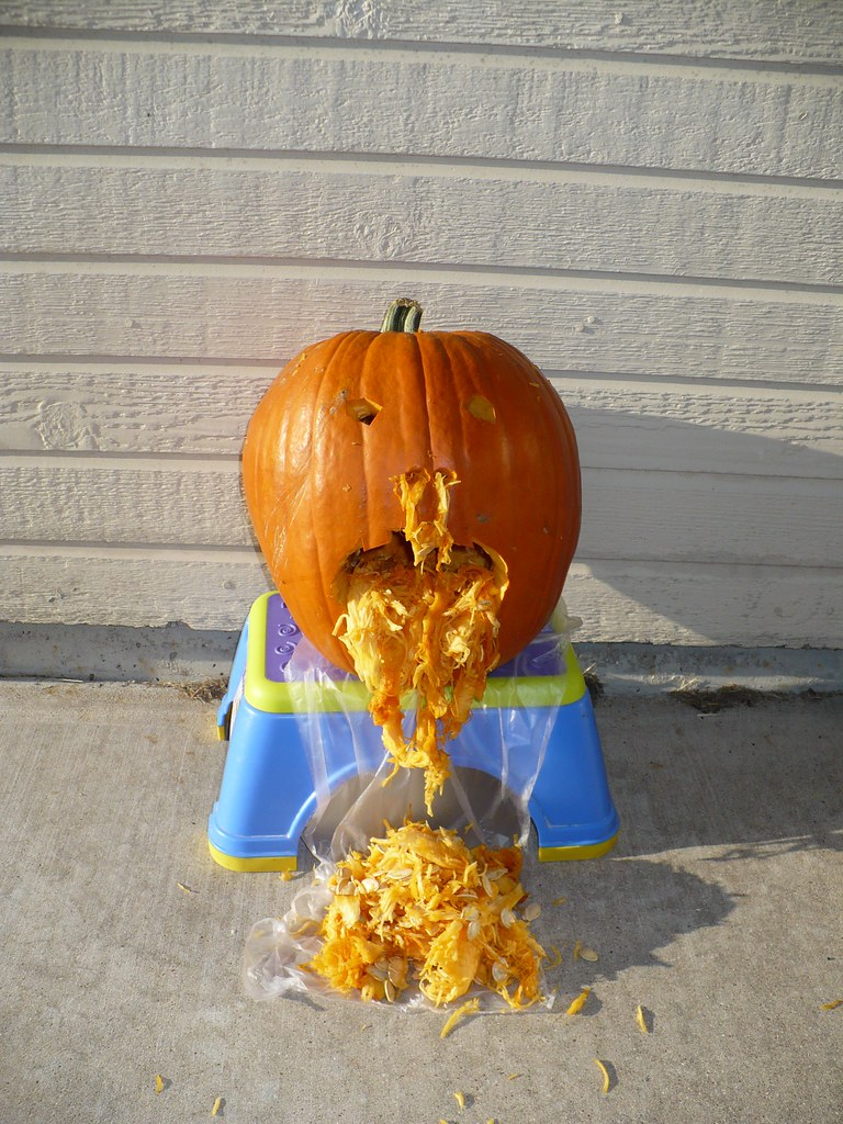 Vomiting Pumpkin For Halloween Abbamouse Flickr