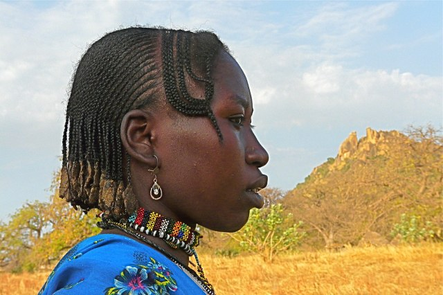 The people of the Nuba mountains