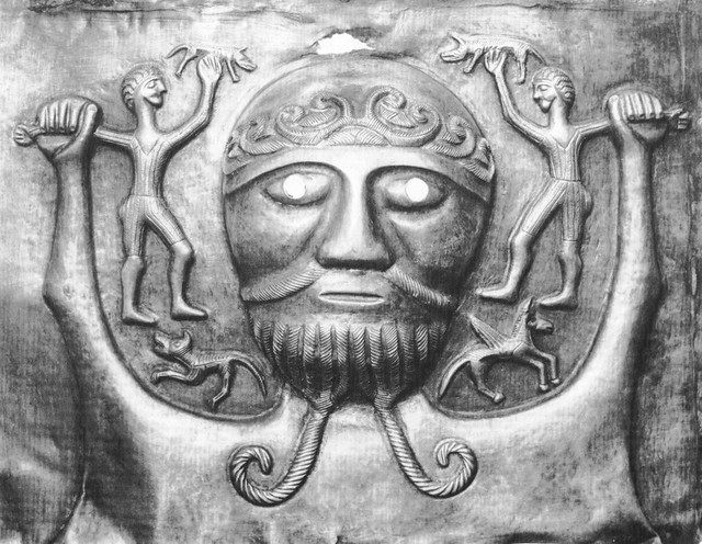 celtic God Dagda or Daghda