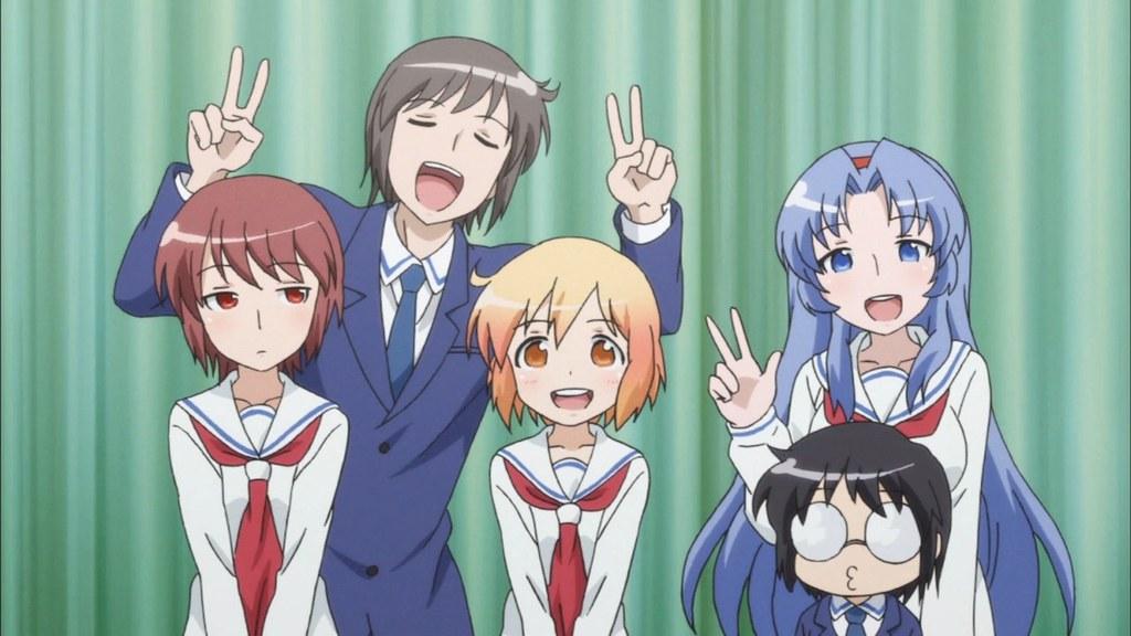 Esqueça o passado e viva o presente com humor - Kotoura-san