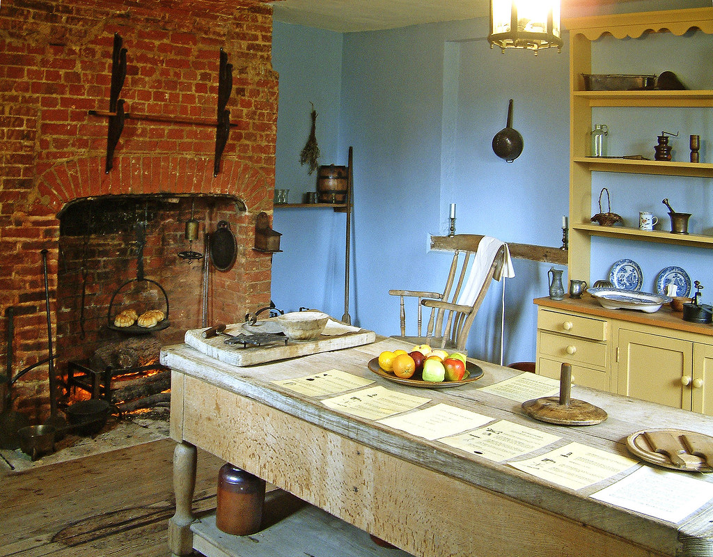 the 18th century kitchen of gilbert white s house in selbo on kitchen kitchen design ideas inspiration ikea id=67986