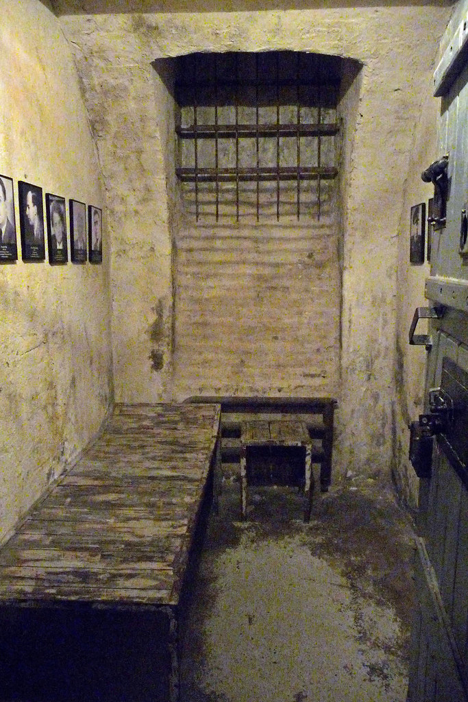 Underground Prison Cell House Of Terror Budapest Flickr