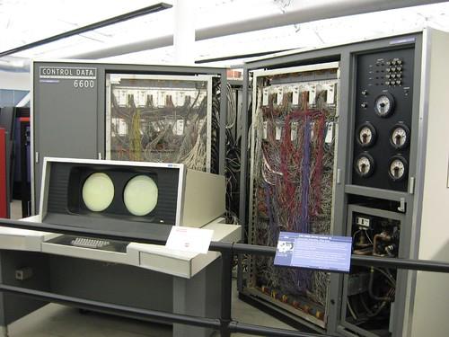 Control Data Corporation CDC 6600 supercomputer (1964 ...