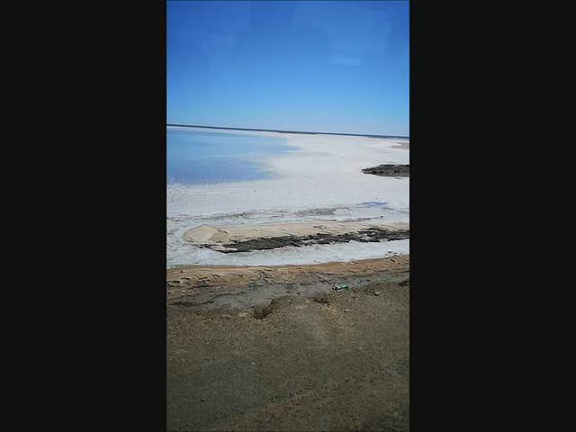 Lago Salado de Nangara Tunez video desierto Sáhara