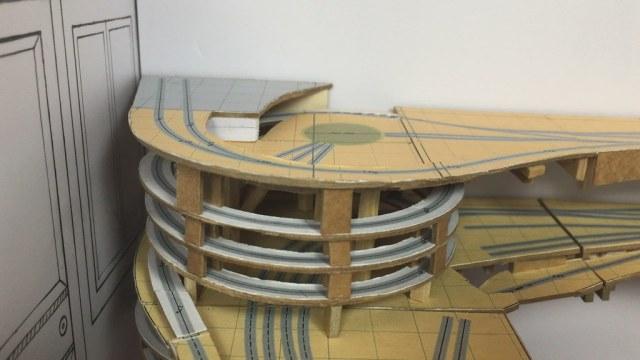Interactive Model of a Model Railroad