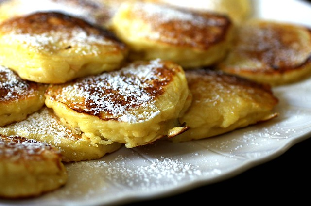 apple latkes/pancakes