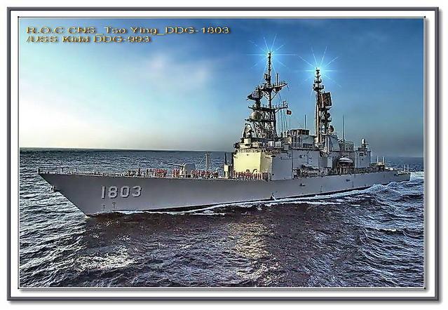 R.O.C CNS_Tso ying_DDG-1803左營軍艦/ USS_Kidd_DDG-993 | 艦名: CNS … | Flickr