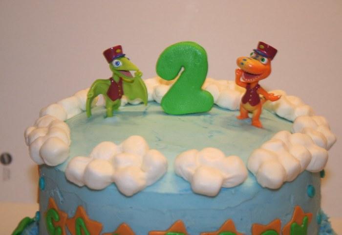 Dinosaur Train Birthday Cake Chelsea Conaty Flickr