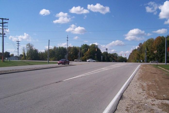 West end of SR 42