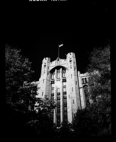 Holga: Masonic Temple, Detroit