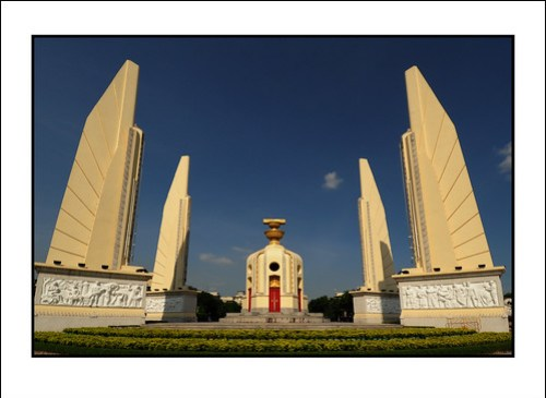 The Relief Panels on Democracy Monument - Corrado Feroci, aka Silpa Bhirasri. Bangkok. 2009.