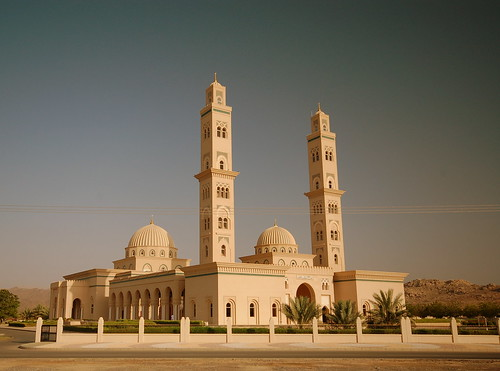 Omani town mosque