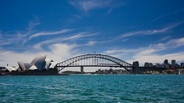 Sydney : Opera House and Harbour Bridge