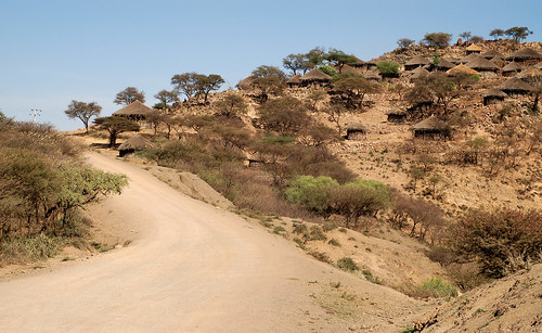 Leaving Amhara for the Afar plains