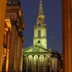 St Martin in the Fields Church, Trafalgar Square London