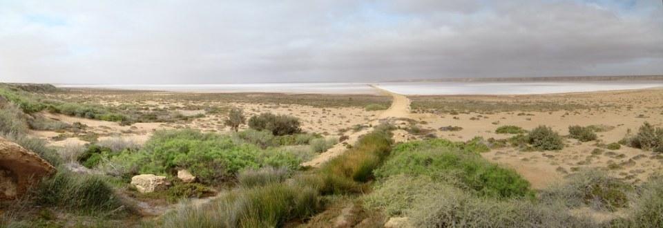 Lago Salado Sabkhta TAH Desierto del Sahara 25
