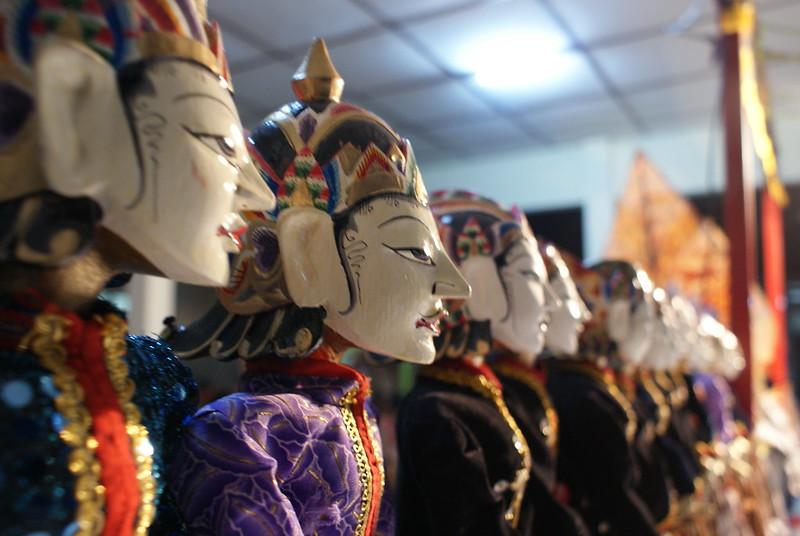 Puppets from yogya aka wayang thengul