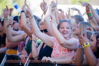 Crowd Shots @ Fvded In The Park - July 3rd 2015