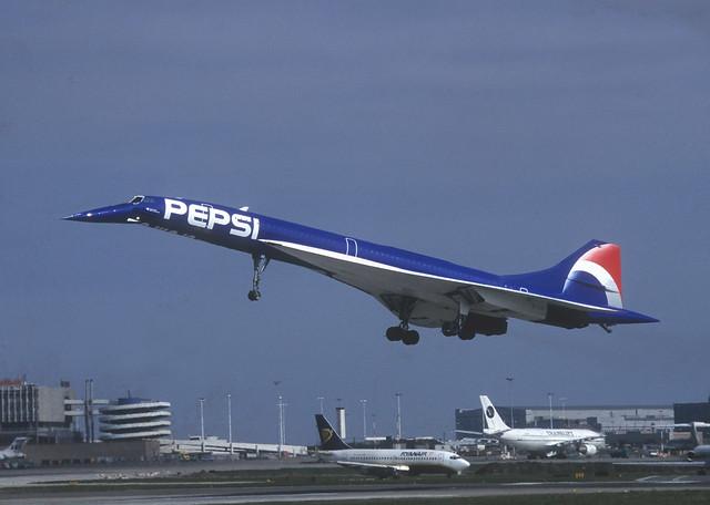 F-BTSD Air France [Pepsi]  Concorde at Dublin