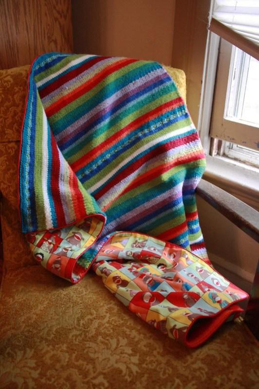 Wild Stripes Baby Blanket