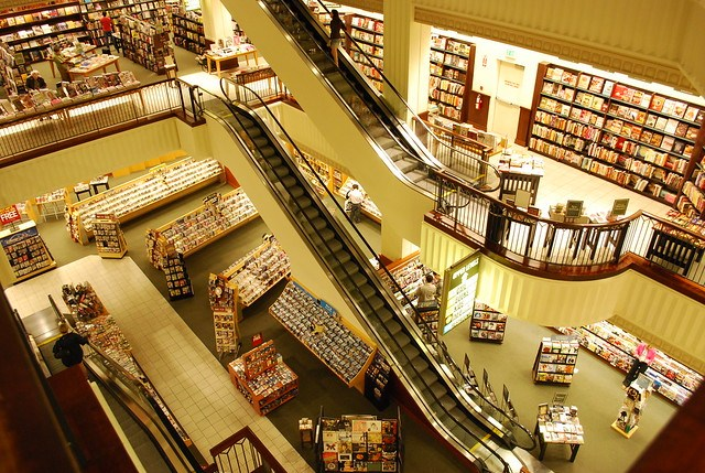Inside of Barnes & Nobles
