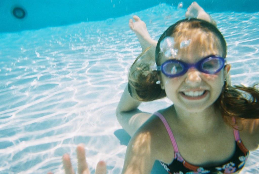 Submerged Girl
