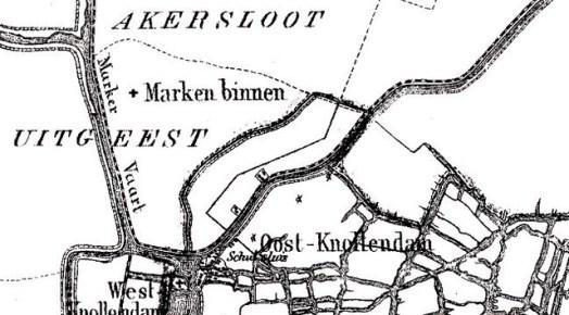 1866 - starnmeer gemeente Wormer