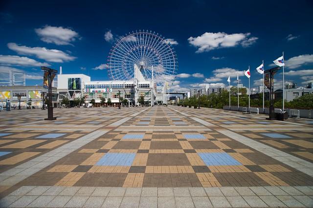 Tempozan Harbor Village Ferris wheel, Osaka