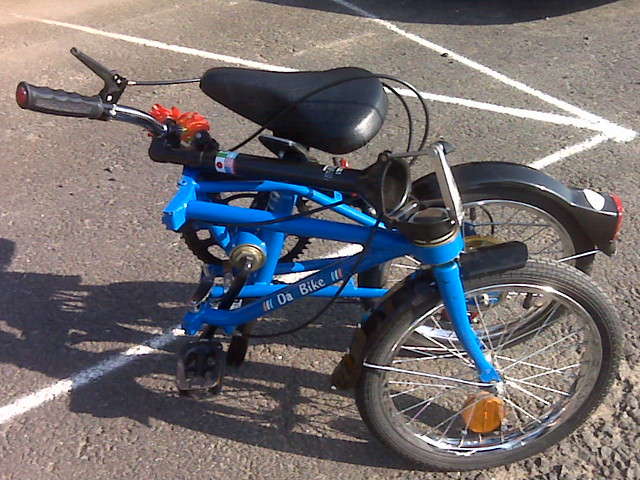 FOLDING CYCLIST: Dahon Da Bike Original