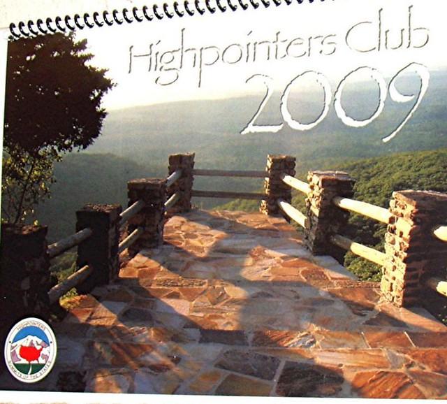 2009 Highpointers Calendar