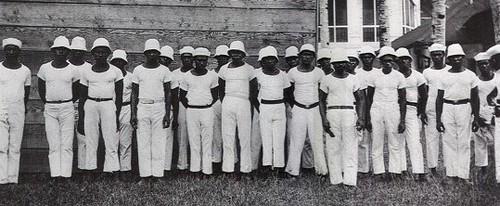 Cormoran Laborers in Uniform