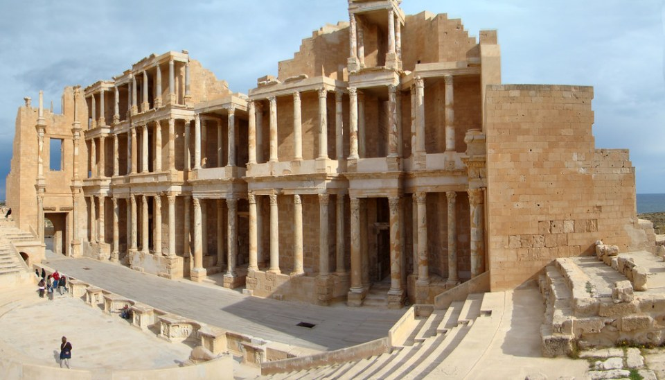 Sabratha teatro romano Libia 12